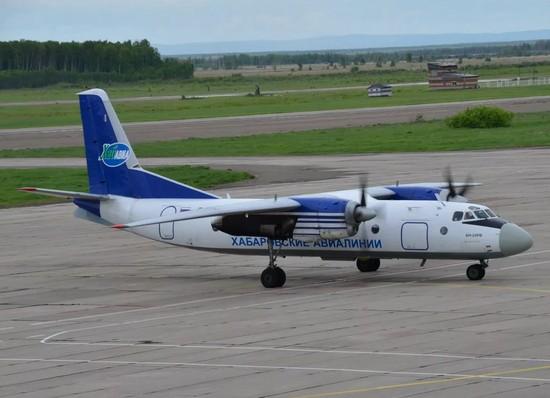 самолет Хабаровских авиалиний